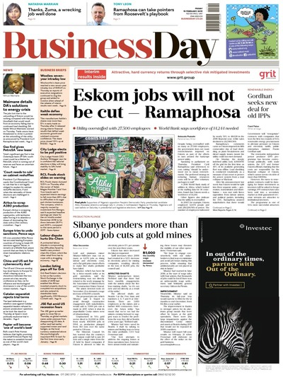 Business Day ZAF