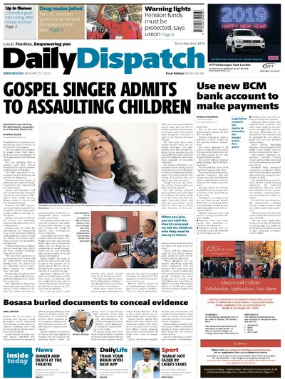 Daily Dispatch ZAF
